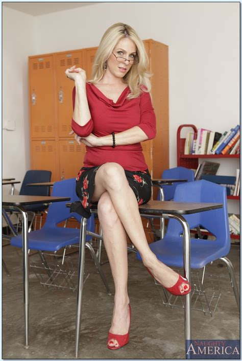 milf teacher angela attison gets horny and shows her