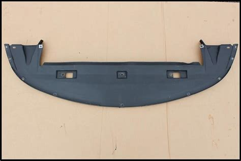 x type 2001 2007 front bumper undertray lower valance bumpers and fittings exterior used