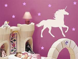 unicorn and stars wall decal on luulla With unicorn wall decal