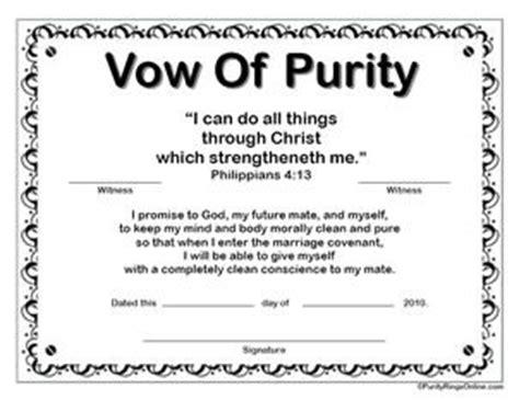 printable purity certificates  guys girls
