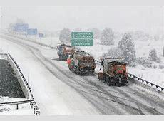 Temporal de frío y nieve Media España en alerta