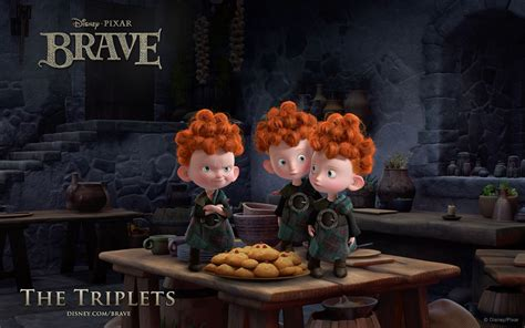 The Triplets - Brave - Mystery Wallpaper
