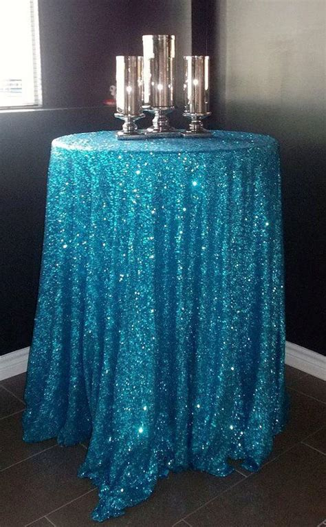 Amazing Sparkle Palace Cocktail Table by Amazing 90 Blue Sequin Tablecloth For