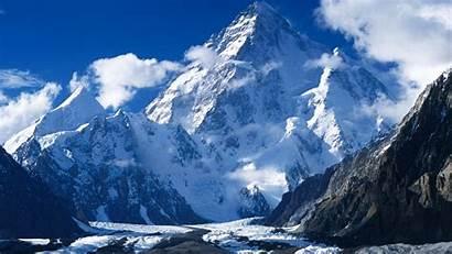 Highest Mountain K2 Mountains Peak Earth Range