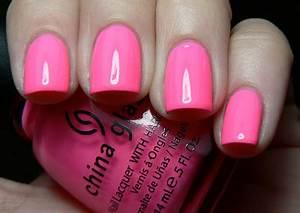 Let them have Polish China Glaze Shocking Pink I m so