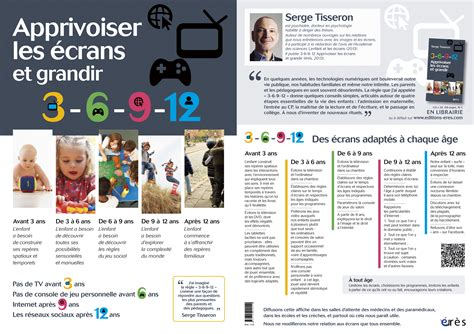 Affiche 3-6-9-12 Apprivoiser Les écrans Et Grandir