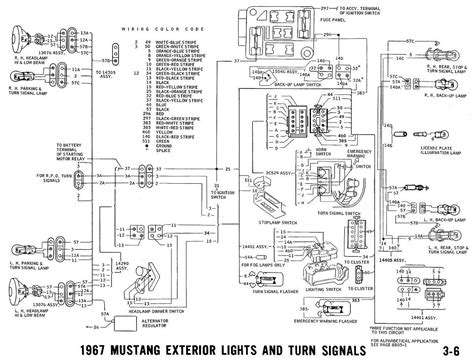 Mustang Turn Signal Switch Wiring Diagram