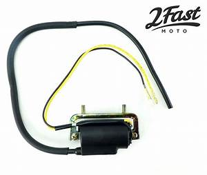 Honda 6 Volt 6v Ignition Coil Dual Lead Single Output