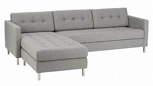 ditto ii grey sectional sofa taylor grey cb2 With ditto grey sectional sofa