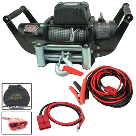 Winch Mobile Receiver Mount Portable Wiring Kit Combo