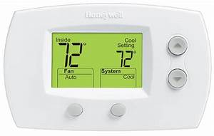 Honeywell Th5220d1003 Pro 5000 Multistage Non Programmable Thermostat