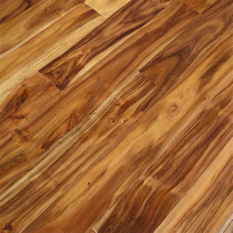 Acacia Natural Hand Scraped Hardwood Flooring Unique