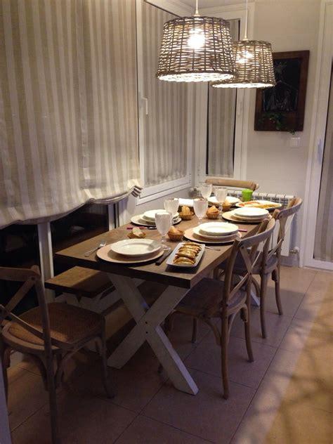 mesa de comedor cottage mesa de comedor  de cocina hecha