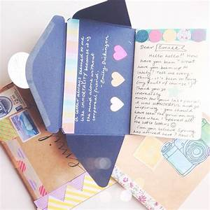 25 best ideas about envelope book on pinterest diy With turn letters into a book