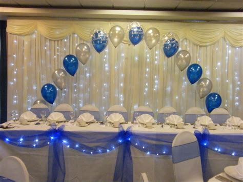 beautiful navy blue wedding centerpiece ideas creative