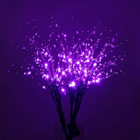 Light Up Branches by Led Light Up Branches Purple 608938972330 Ebay