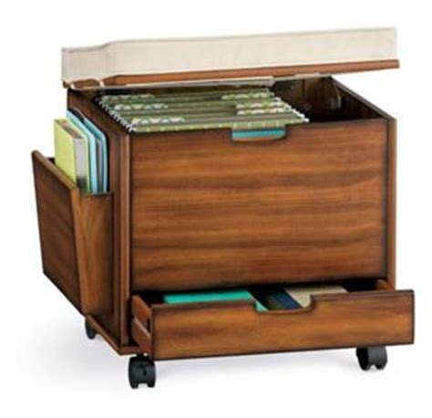 ottoman file cabinet craft home office rolling storage cart file cabinet