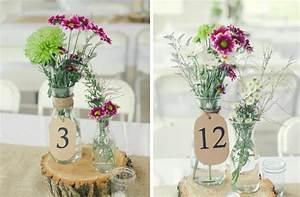 idees deco mariage a faire soi meme pour un evenement With chambre bébé design avec fleurs pour mariage champetre