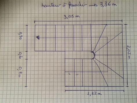 escalier aide calcul et plan