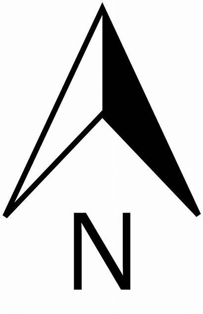 North Svg Pointer Wikipedia Nordpfeil Symbols Windrose