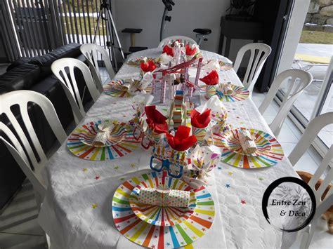 decoration theme fete foraine table th 232 me f 234 te foraine entre zen et d 233 co