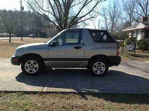 car engine repair manual 2003 chevrolet tracker user handbook sell used 2003 chevrolet tracker in gadsden alabama united states for us 5 995 00