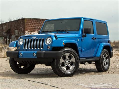 chief jeep color 2017 jeep wrangler sahara gets small styling tweaks 2018