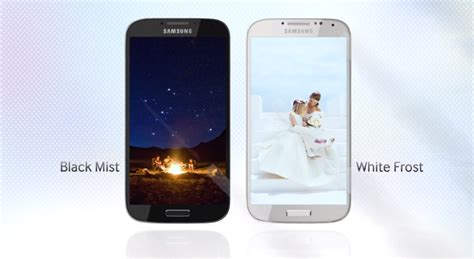 samsung galaxy s4 colors the samsung galaxy s4 introduction high tech point
