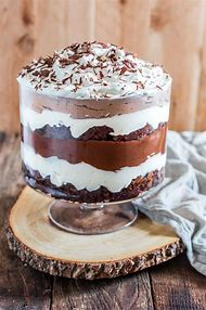 Chocolate Pudding Brownie Trifle Recipe
