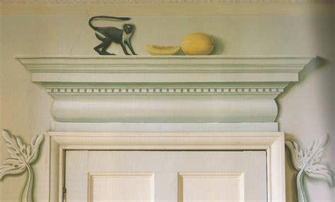 trompe door oeil mural molding murals doorway loeil courtneyprice