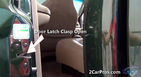 car door wont unlock how to fix a car door not closing in less than 2 minutes