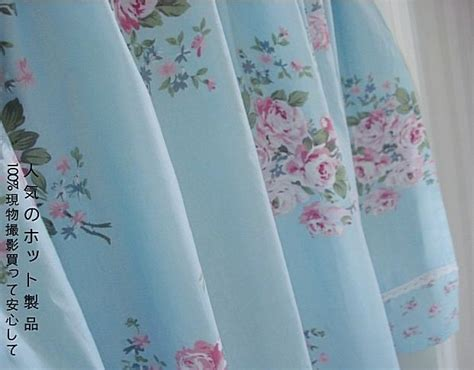 Blue Country Kitchen Curtains by Country Blue Floral Cafe Kitchen Curtain Tier Q