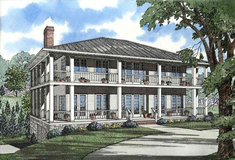 Stately Southern Design With Wrap-around Porch