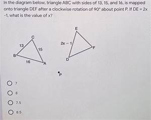Answered  In The Diagram Below  Triangle Abc With U2026