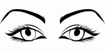 Eyes Eyelashes Clipart Round Clipground