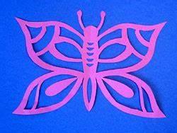 Schmetterlinge Aus Tonpapier Basteln : scherenschnitt schmetterling basteln basteln gestalten ~ Orissabook.com Haus und Dekorationen