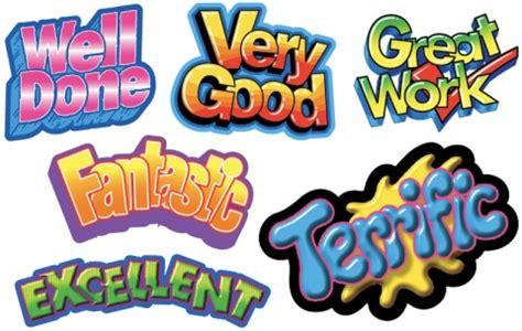 Merit Stickers Great Workvery Goodexcellentfantastic