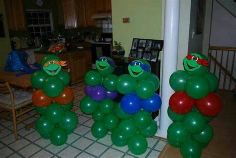 Turtle Decorations Ideas by Tmnt Ballon Centerpieces Tmnt Tmnt