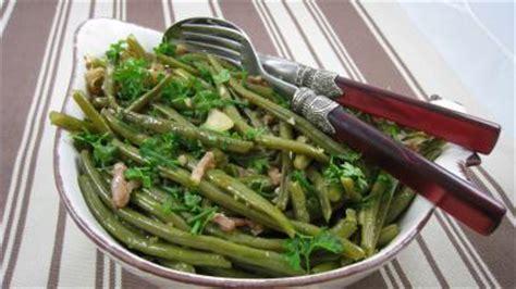 cuisiner des haricots verts haricots verts aux lardons supertoinette la cuisine facile