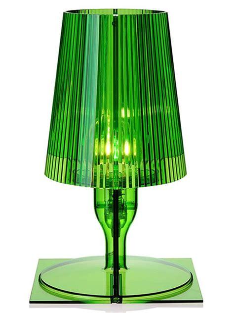 lada verde da tavolo take lada da tavolo kartell in policarbonato in