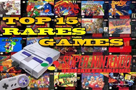 Top 15 Rares Super Nintendo Games Most Expensive Snes