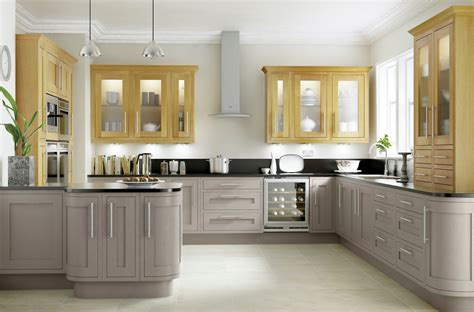 Kitchen Ideas B And Q by Cooke Lewis Carisbrooke Taupe Framed Diy At B Q