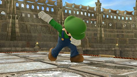 luigi dab  side tauntvictory pose  super smash bros