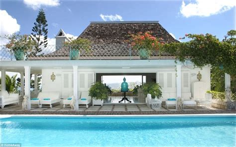 luxury house plans with pools st barts 39 villa rockstar where the revenant 39 s leonardo dicaprio spent new year 39 s daily