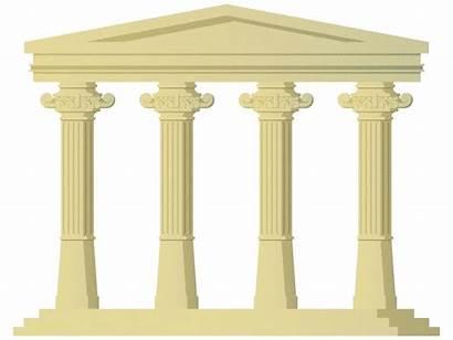 Pillars Pillar Column Clipart Four Transparent Introducing