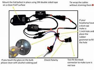 Hid Kit Installation Instructions With Image Guide In 2020