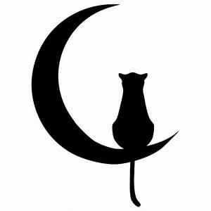 Lichtschalter Katze schwarz Wandtattoo