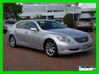 heat ls for sale purchase used 2008 lexus ls460 72k miles leather