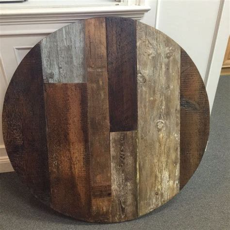 reclaimed dining table top reclaimed wood round dining table 42 quot round table top wood