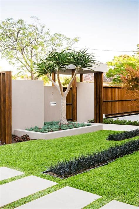 contemporary front garden design 35 beautiful front yard and backyard landscaping ideas